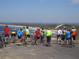 cycling nsw - yamba area