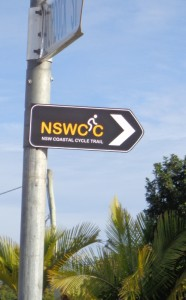 NSWCC signpost